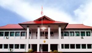 Gedung Kantor Pengadilan Negeri Manna saat ini